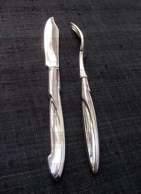 Henry van de Velde, Modell Nr.I, Silber Besteck