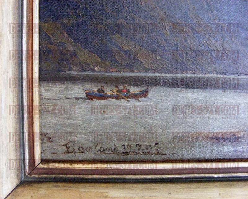 K. P. Themistokles von ECKENBRECHER, Fjaerland