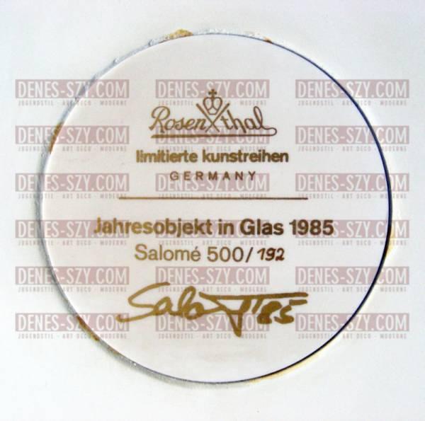 Salomé (Wolfgang Cihlarz), Mephisto, 1985 ROSENTHAL JAHRESOBJEKT