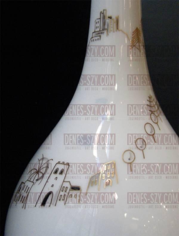 vaso porcellana anni 50 di KPM Berlino Germania