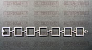 Hans Hansen KGH Design Schmuck Silber Armband ca.1950