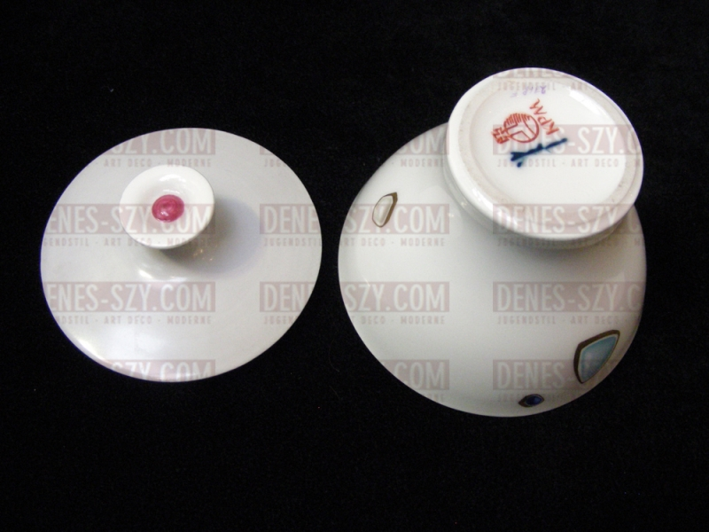KPM Royal Berlin, Design Griemert, porcelain mocha service Crocus, decor by von Unruh