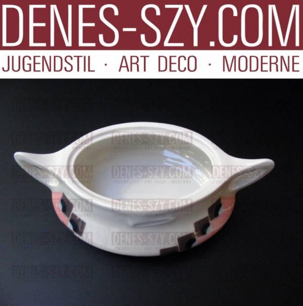 zuccheriera da porcellana di Meissen, stile Liberty modello Misnia
