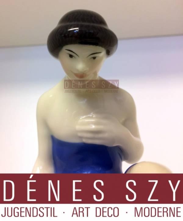 KPM Royal Berlin porcelain figure of a kneeling Kurd, Hochzeitszug